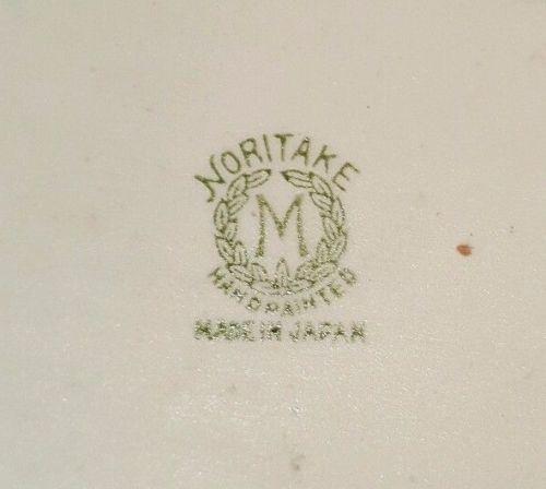 オールドノリタケ製金彩とコバルトの食器セット