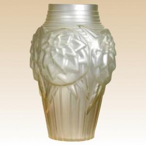 ミューラー兄弟 リュネヴィル オパレセント(乳白色ガラス)フランス製 アールデコ様式 1920-30年頃 素晴らしい