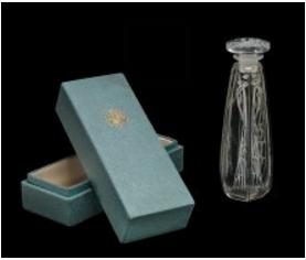 ルネラリックがデザインしたコティのための香水瓶