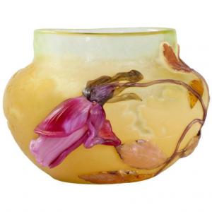 エミール・ガレのガラス工芸品