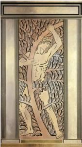 ルネラリック作 ワナメイカーのメンズストアの作品