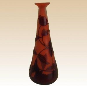 エミールガレ 作 非常に美しいカメオガラス