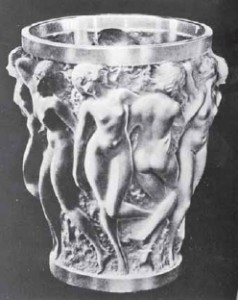 ラリック花瓶(バッカスの巫女)本物