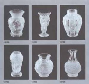 チェコ製フロステッドガラス製品カタログ