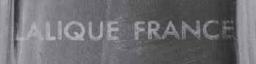 ラリック1945年以降の酸エッチングを用いたサイン本物