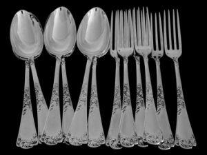 ピュイフォルカ ディナー用食卓食器(12本セット)