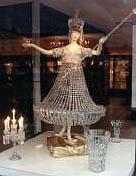 バカラの博物館のオブジェ