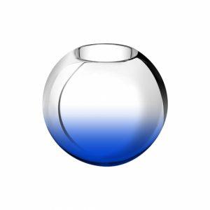 花瓶ブルー