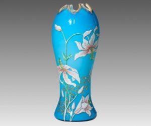 ルグラ アールヌーボ エナメル 花瓶