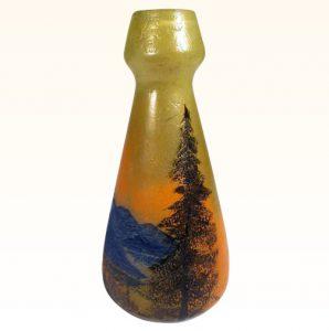 豪華なフランス製カメオ花瓶 ルグラ