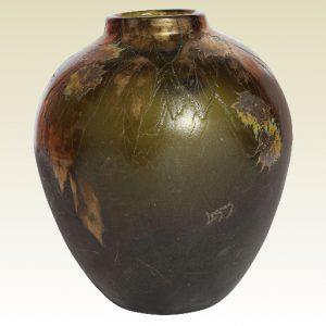 ルグラ カメオ アートガラス花瓶 1910年代