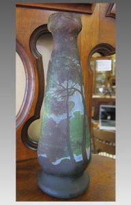 大きい ルグラ カメオガラス マルチカラー 花瓶