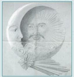 マジョレルの作品「太陽」