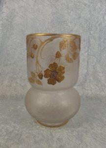 1900年頃 ルグラモンジョワ カメオガラス花瓶