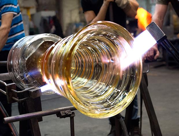 バカラグラスの製造工程4 baccarat