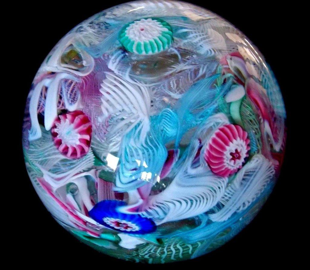 ベネチアングラス(ムラノガラス)ペーパーウェイト・ウエイト・置物