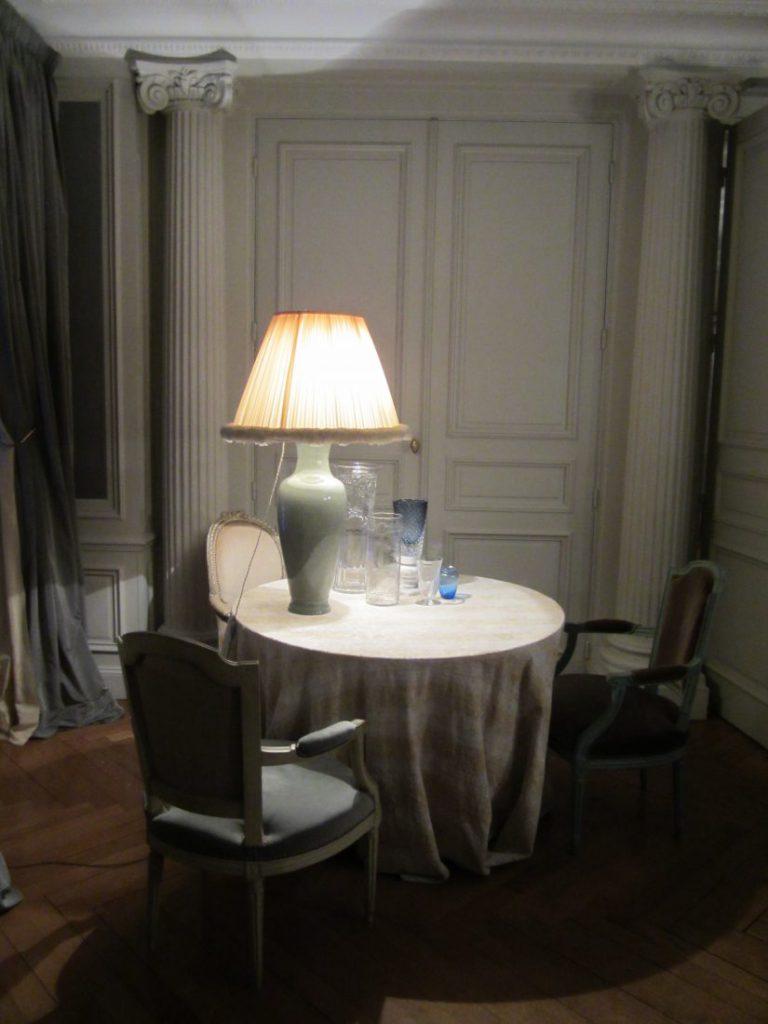 バカラ村 フランス クリスタルガラスの城 客室 内装