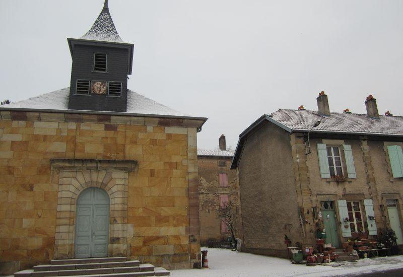 バカラ村 フランス 聖アンヌ礼拝堂
