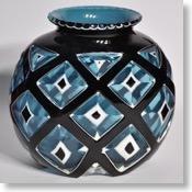 オーギュスト・ウィロン、多層ガラスの花瓶