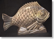 オーギュスト・ウィロン 「魚」アール・デコ