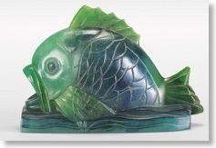 アマルリック・ワルター、オーギュスト・ウィロン 「魚」アール・デコ