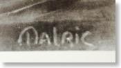 アマルリック・ワルター マルリックのサイン