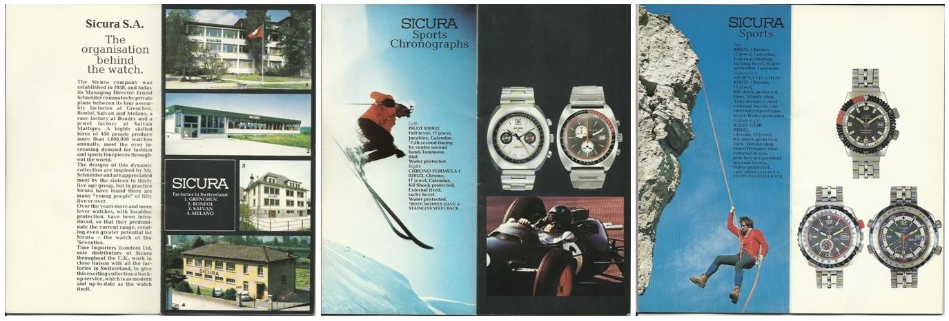 シクラ 1975年 パンフレット