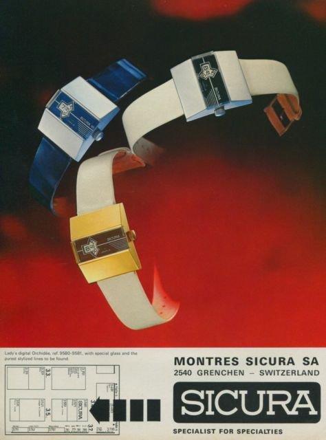 シクラ SICURA 1974年 広告