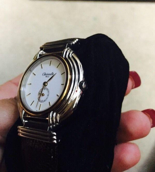 クリストフルの腕時計 側面