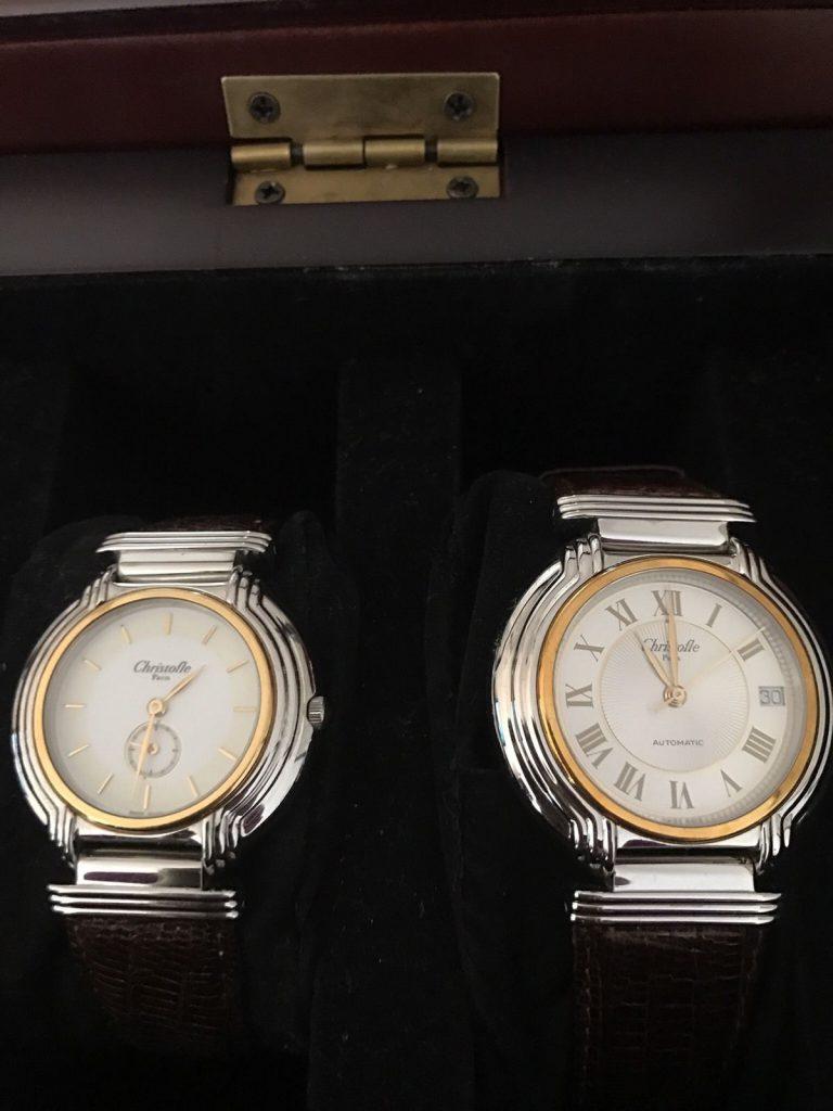 クリストフル腕時計のMサイズとLサイズ
