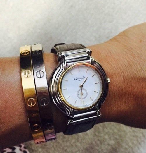 クリストフルの腕時計