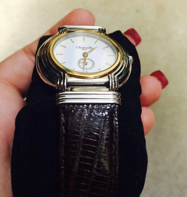 クリストフルの腕時計 デザイン