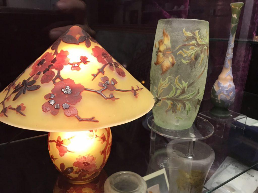 ガレのランプ